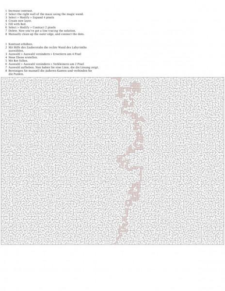 160 by 120 orthogonal maze-2