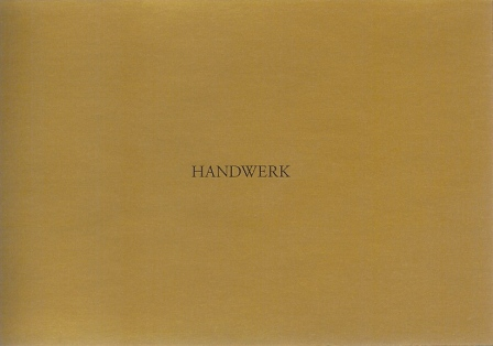 1994 Oliver Velz - Handwerk a