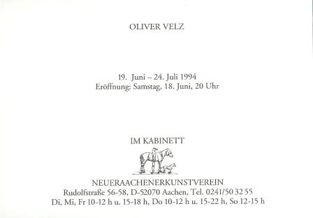1994 Oliver Velz - Handwerk b