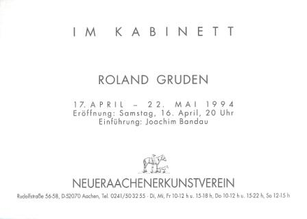 1994 Roland Gruden - Kleine Fische b