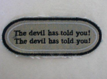 The devil has told you!