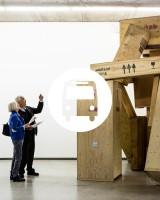 VC - M&G - PROMO - Adrien Tirtiaux, Les douze Travaux d'Adrien Tirtiaux, 2014, Installationsansicht IKOB (c) The Artist, Foto Kristof Vrancken